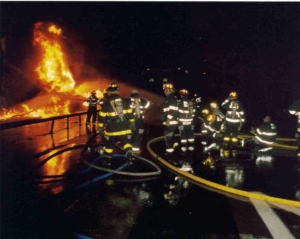 Route 9A Tanker Fire (2004)