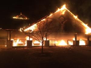 Law Park Pavilion Fire (2015)